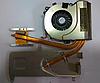 Система охлаждения (Fan), для ноутбука Sony VGN-NW, с термопастой