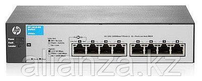 J9802A Коммутатор HP 1810-8GSwitch(WEB-Managed, 8*10/100/1000, Fanless design, desktop)