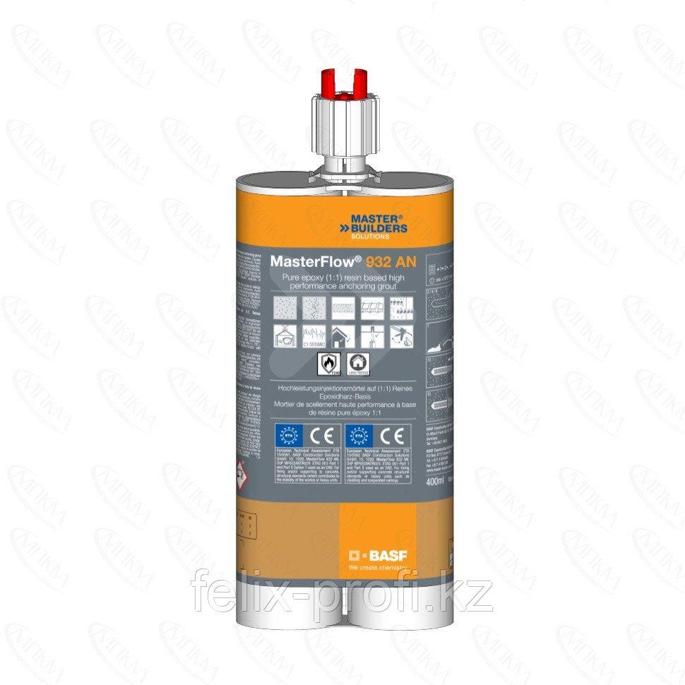 MasterFlow 932 AN представляет собой двухкомпонентный состав на основе эпоксидной смолы без добавок для крепле