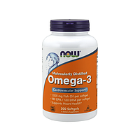 Омега Now Foods - Omega 3, 200 капсул