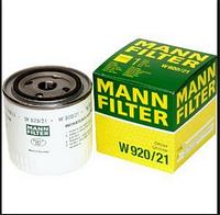 Масляный фильтр mann w 920/21 железный