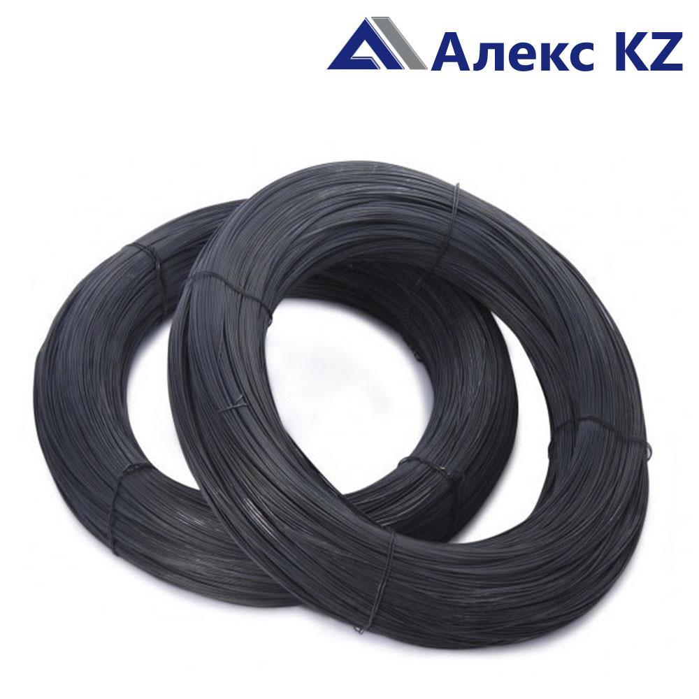 Проволока  вязальная, черная  1,2 мм.