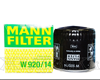 Масляный фильтр mann w 920/14 железный