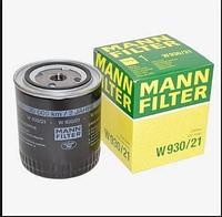 Масляный фильтр mann w 930/21 железный