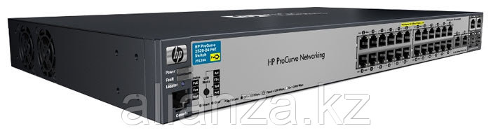 J9138A Коммутатор HP E2520-24-PoE (Managed,  24*10/100 + 2*10/100/1000 + 2*10/100/1000 or SFP, PoE, desktop)