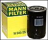 Масляный фильтр mann w 940/25 железный