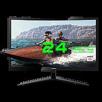 """Игровой монитор GameMax GMX24C144, разрешение 1920*1080, диагональ монитора 23.6""""Black, HDMI, DP, DVI,"""