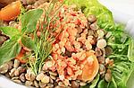 Красная чечевица в вегетарианстве