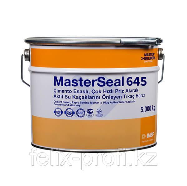 MasterSeal 645 Двухкомпонентный гидроизоляционный материал на основе модифицированного полимером битума и кауч