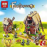 Конструктор Lepin 16049 Набег на деревенскую мельницу. Аналог Lego Castle (7189) 1010 Деталей, фото 3