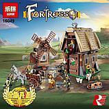 Конструктор Lepin 16049 Набег на деревенскую мельницу. Аналог Lego Castle (7189) 1010 Деталей, фото 4