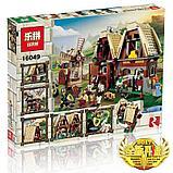 Конструктор Lepin 16049 Набег на деревенскую мельницу. Аналог Lego Castle (7189) 1010 Деталей, фото 2