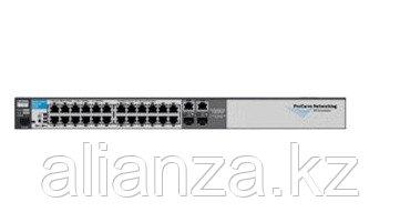 """J9279A Коммутатор HP E2510-24G (Managed, 20*10/100/1000 + 4*10/100/1000 or SFP, 19"""")"""