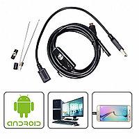 Гибкая видео-камера Эндоскоп Android and PC Endoscope 2 и 5м