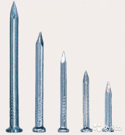 Гвозди строительные 150 мм 200 мм, фото 2