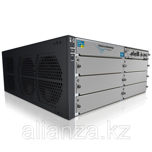 """J9642A  Коммутатор HP E5406 zl Switch with Premium SW (Managed, L3, 6 open I/O slots, without power supply(up to 2), 19"""")"""