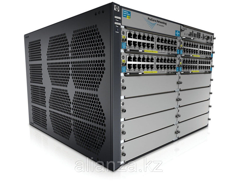 """J9643A Коммутатор HP E5412 zl Switch with Premium SW (Managed, L3, 12 open I/O slots, without power supply(up to 2), 19"""")"""
