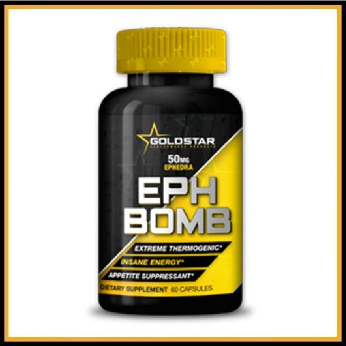 Goldstar EPH Bomb 60 caps (с эфедрой)