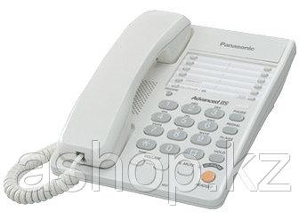 Телефон проводной стационарный Panasonic KX-TS2363 CAW, 20 контактов, Цвет: Белый, Упаковка: Розничная