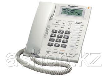 Телефон проводной стационарный Panasonic KX-TS2388 CAW, 50 контактов, АОН: Да, Цвет: Белый , Упаковка: Розничн