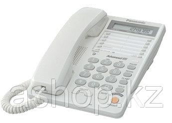 Телефон проводной стационарный Panasonic KX-TS2365 CAW, Цвет: Белый , Упаковка: Розничная