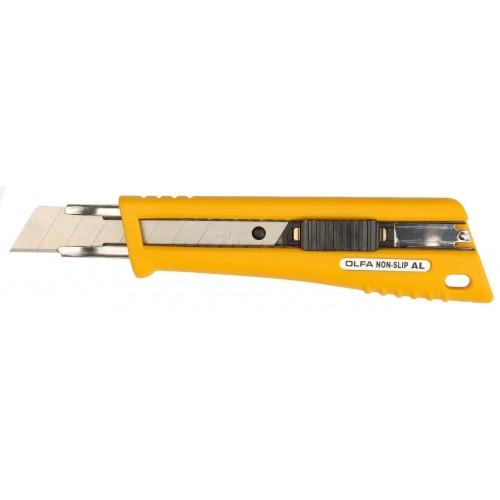 Нож OLFA с выдвижным лезвием, со специльным покрытием, автофиксатор, 18мм