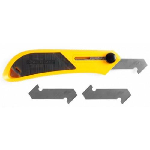 Набор OLFA Резак для пластика усиленный с 3-мя лезвиями PC-L, 13мм