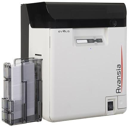 Принтер печати на картах Evolis Avansia с кодировщиком контактных,безконтактных карт AV1H0HLBBD
