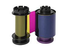 Лента для полноцветной печати YMCK на картах изготовленных не из PVC (ПВХ) 400 отп. для Avansia