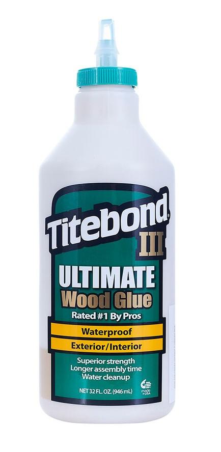 Клей Titebond III Ultimate повышенной влагостойкости 946 мл