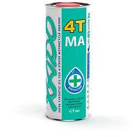 Мотоциклетное масло XADO Atomic Oil 10W-40 4T 1литр