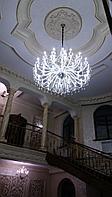 Большая хрустальная люстра на 35 рожков, фото 1