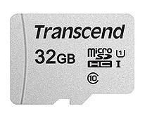 Карта памяти MicroSD 32GB Class 10 U1 Transcend TS32GUSD300S