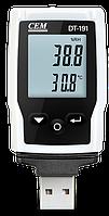 CEM Instruments DT-191A Регистратор температуры и влажности 482520, фото 1