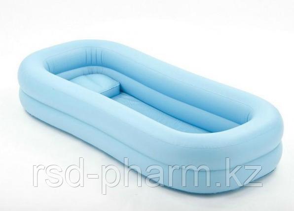 Надувная ванна из винила для мытья больных на кровати (с электронасосом), фото 2