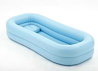 Надувная ванна из винила для мытья больных на кровати (с электронасосом)