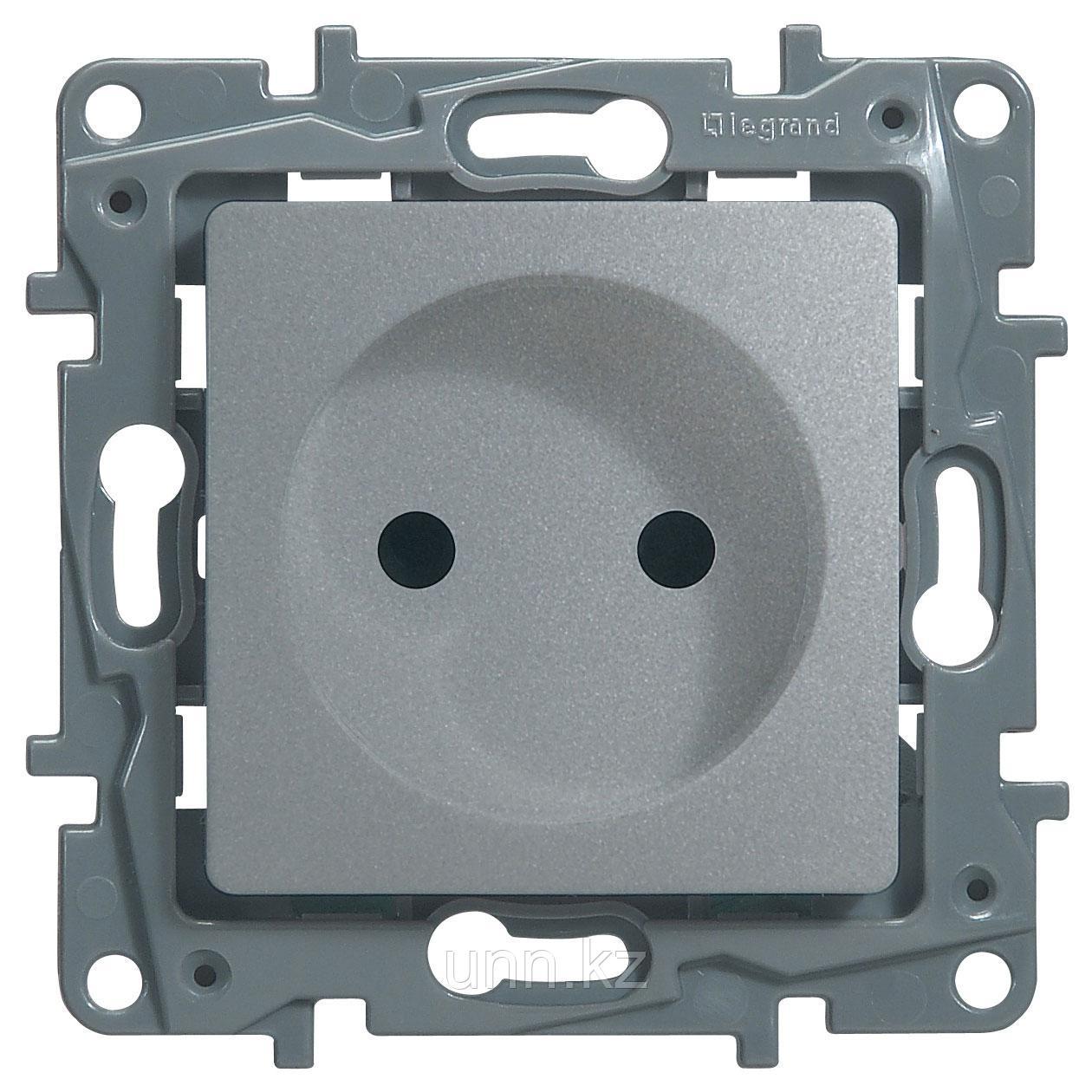 Розетка 2к+3 со шторками, автоматические зажимы (ETIKA)