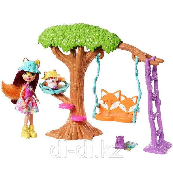 Mattel Enchantimals Сюжетные игровые наборы- Качели
