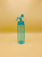 Бутылка ля воды Nice Button 0.6 c брызгалкой (распылитель)