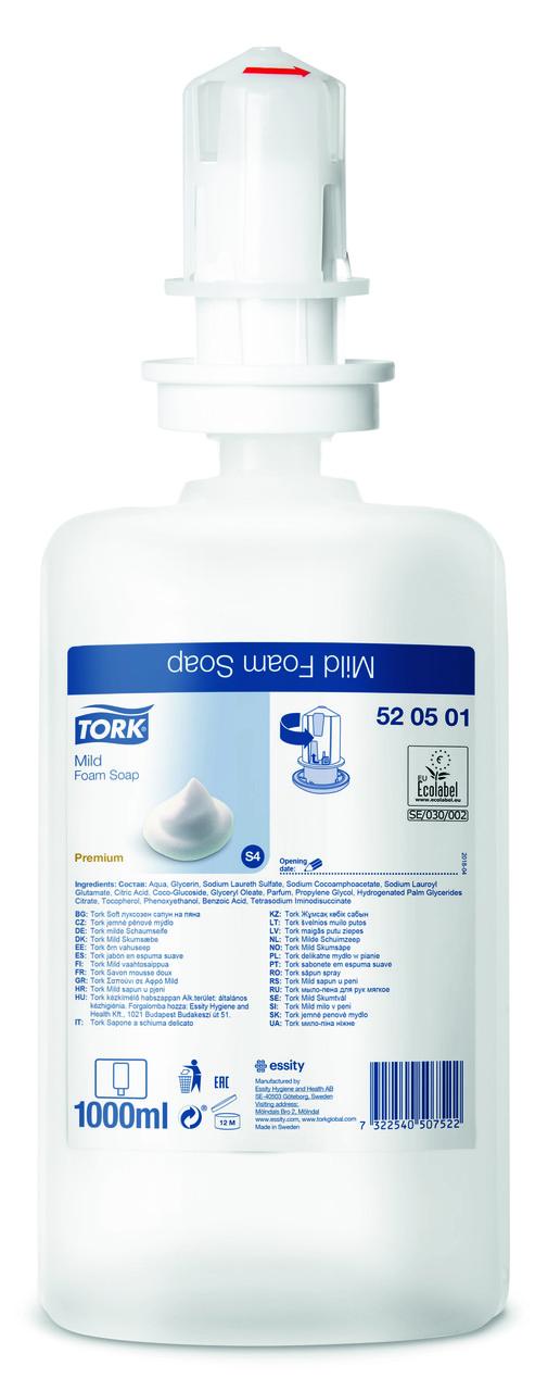 Tork мыло-пена мягкое 520501