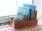 Деревянный ящик с вырезанными ручками с покраской 30*20*8,5 см., фото 4