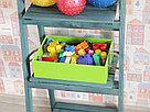 Деревянный ящик с вырезанными ручками с покраской 30*20*8,5 см., фото 7