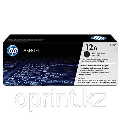Картридж HP 12А