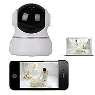Беспроводная поворотная Wi-Fi IP камера видеонаблюдения, HD разрешение 2.0MP, фото 3
