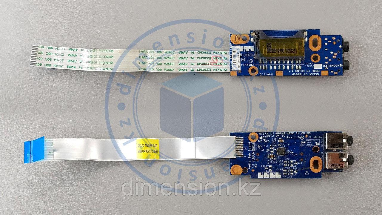 Audio плата, порт, разъемы для SAMSUNG NP350 NP350V NP355