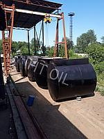 Резервуар горизонтальный стальной, тип РГС. Завод изготовитель.