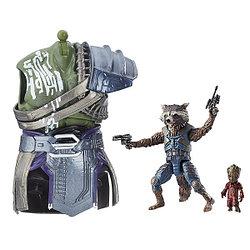 """Hasbro Marvel Legends """"Стражи Галактики. Часть 2"""" - Фигурки Рокета и малыш Грут"""