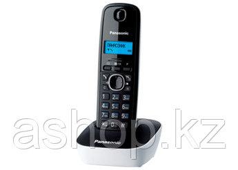 Радиотелефон DECT Panasonic KX-TG1611 CAH, 50 контактов, АОН: Есть, Ресурс: 550 мАч, время зарядки - до 7 ч, Р