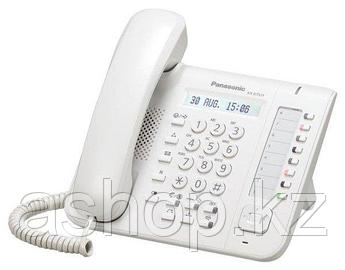 Системный телефон цифровой Panasonic KX-DT521RU, Цвет: Белый, Упаковка: Розничная