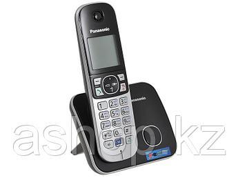 Радиотелефон DECT Panasonic KX-TG6811 CAB, 120 контактов, АОН: Есть, Ресурс: Время зарядки - до 7 ч; емкость -